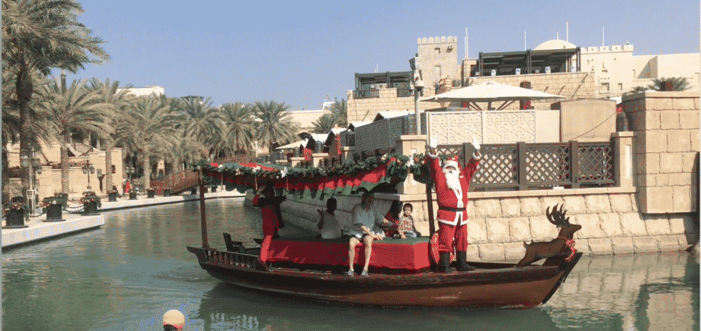 Santa at Madinat Jumeirah